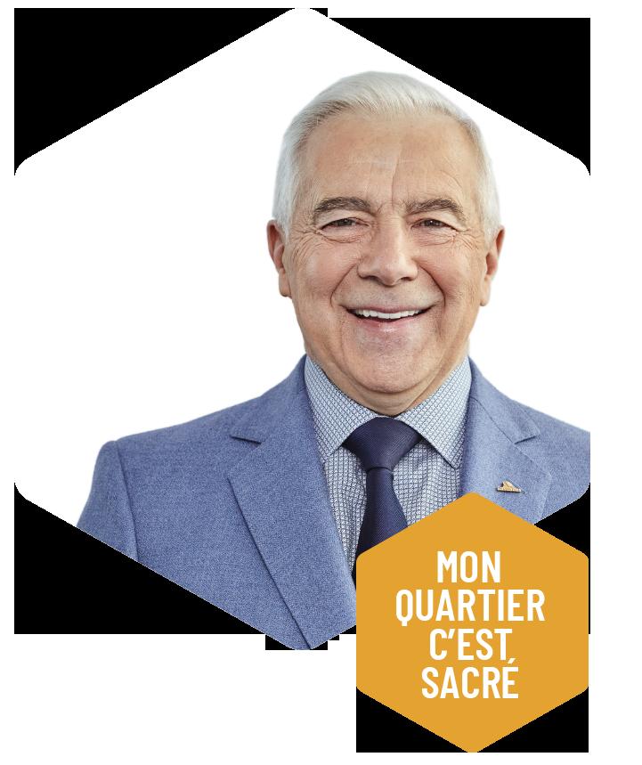 Photo du président d'honneur Alain Lemaire