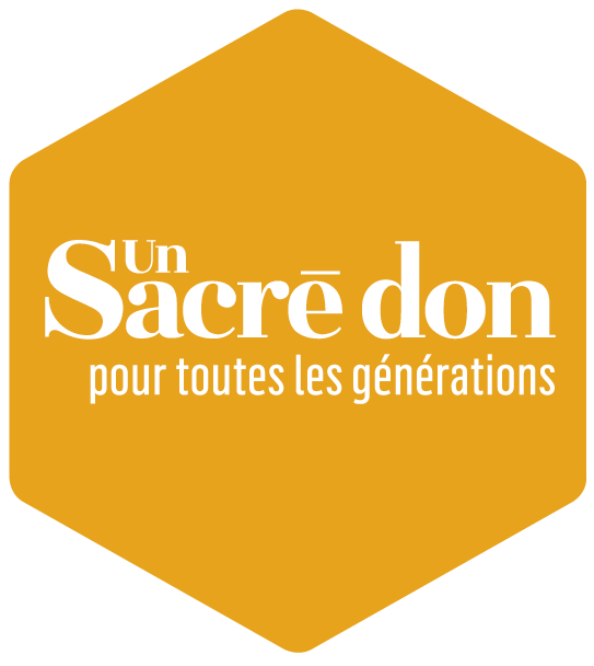 Hexagone - logo Sacré don